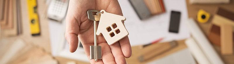 keys to new property
