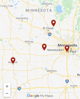 Elation Minnesota Locations